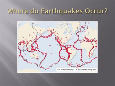 earthquake occur chapter 3 the dynamic earth ppt download