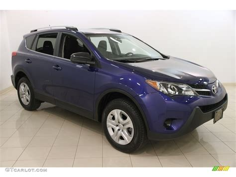 Toyota Rav4 Colors 2015 Blue Crush Metallic Toyota Rav4 Le 117826730 Photo