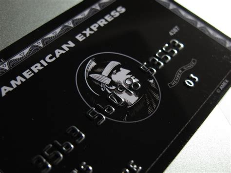 black card american express the centurion card