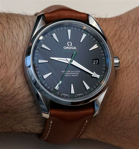 Omega Seamaster Aqua Terra Master Co Axial Watches Hands On   aBlogtoWatch
