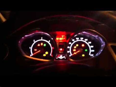 ford fiesta warning lights ford fiesta 1 4 tdci engine failure youtube