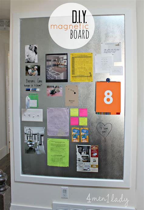 kitchen bulletin board ideas 10 diy kitchen timeless design ideas 6 diy magnetic