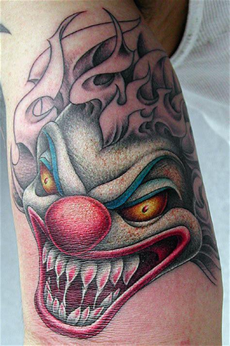 Tattoos Clowns 4 Tattoos Of Evil Clowns