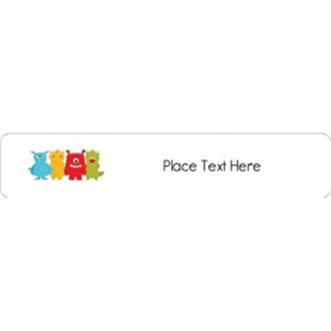 Templates Cute Monsters File Folder Labels 30 Per Sheet Avery Avery 8593 Word Template