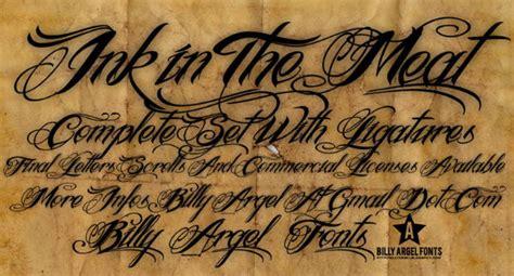 tattoo font online top 10 free tattoo fonts