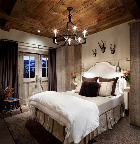lodge bedroom decor rustic ski lodge home bunch interior design ideas