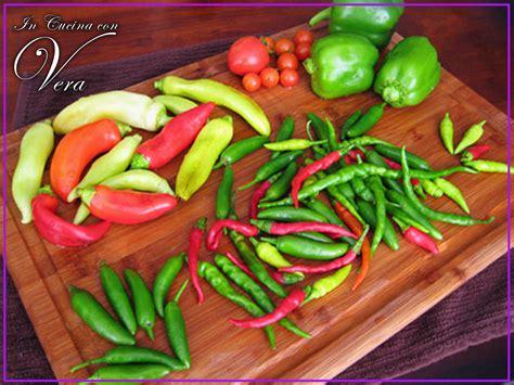 peperoncino in cucina peperoncino in cucina con vera