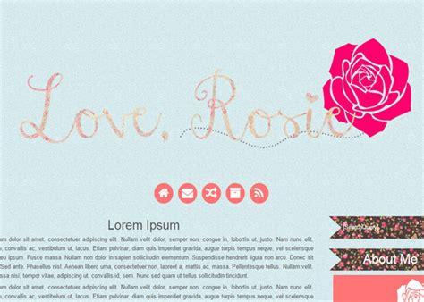 tumblr themes rosy love rosie tumblr