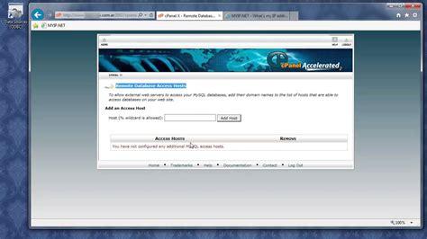tutorial php admin tutorial mysql phpmyadmin connector odbc y access