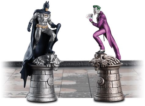 Unique Chess Pieces dc chess collection comic heroes eaglemoss