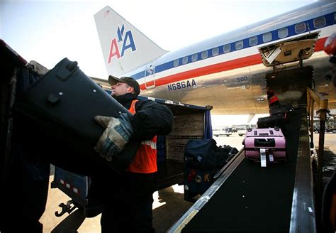 american airlines baggage travelers odds decline on airline baggage the new york