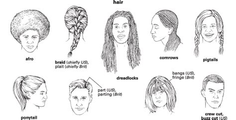 hair style esl hairstyles vocabulary tuny for