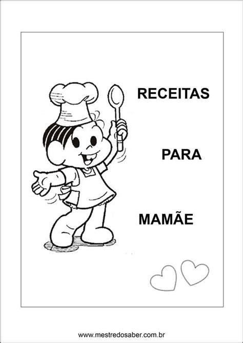 Caderno de receitas para o dia das mães - Capa