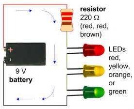 led len batterie need specific help with electronic circuit