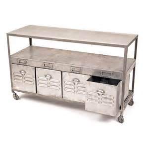 Tabletop Vanity Industrial Loft Mill House Raw Steel Console Table With