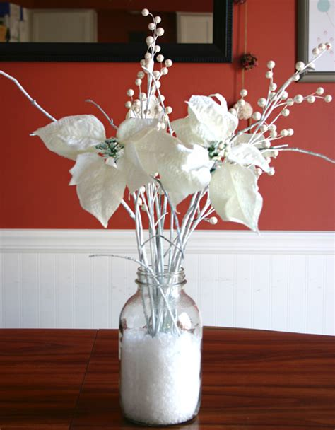 Handmade Centerpiece Ideas - handmade holidays winter table centerpiece