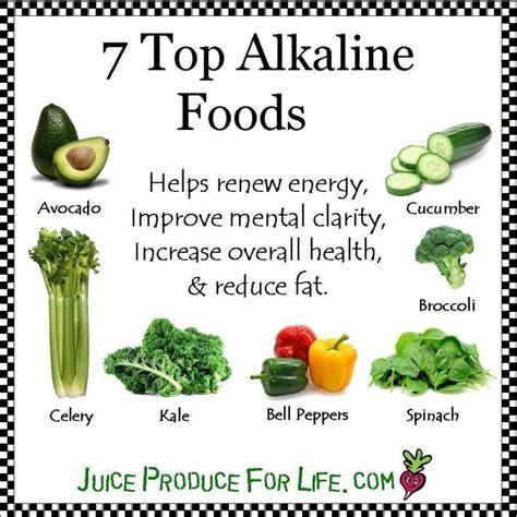best alkaline food top alkaline foods gettin healthy