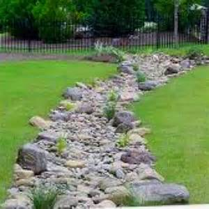 disguised yard drainage for the home