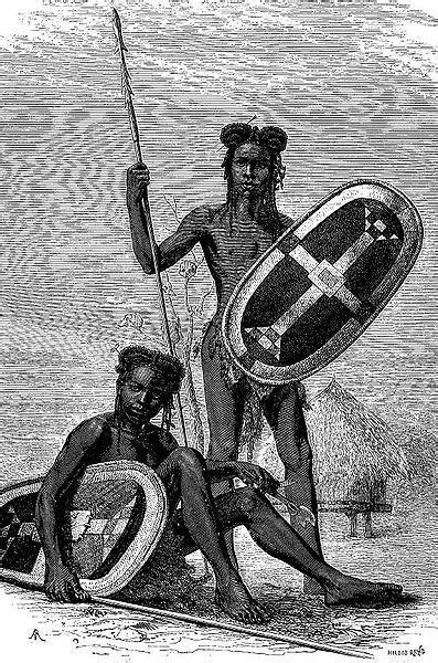 Niam-Niam warriors of Centeral Africa | Africani