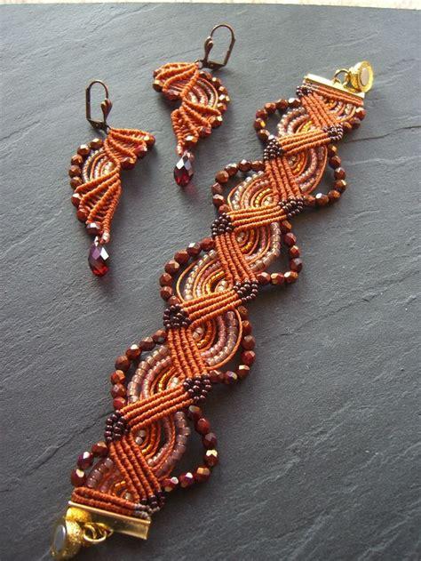 Cavandoli Macrame - 457 best cavandoli images on macrame jewelry