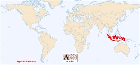 where is indonesia on the world map world atlas the sovereign states of the world indonesia