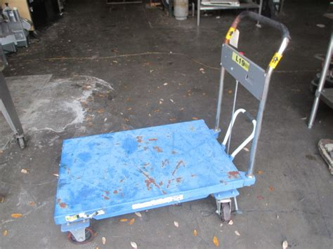 global industries mobile scissor lift table stock cart lbs capacity