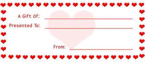 printable gift certificates for