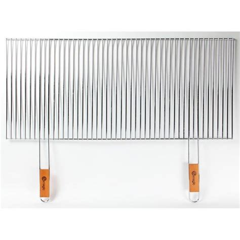 Grille Inox Pour Barbecue by Grille Barbecue Decoupable 90x40cm Somagic