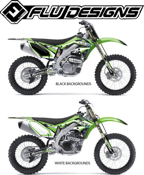flu design graphics review flu designs 2013 ts1 graphic kit kawasaki bto sports