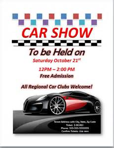 car show flyer template the gallery for gt school carnival flyer