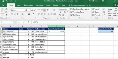excel formula tricks absolute reference learn excel now