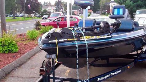 ranger bass boat without motor 1990 ranger 482v bass boat w johnson gt150 v6 motor
