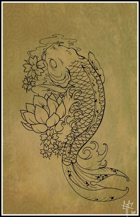 determination tattoo koi quot because of its strength and determination to