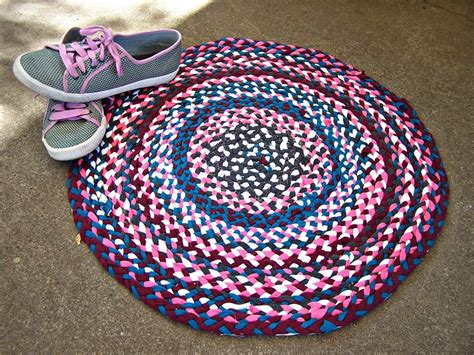 how to make a braided rug without sewing 56 t shirt rug diy tutorials guide patterns