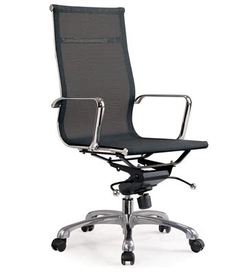 mesh office chair aluminum mesh office chair high back myhome shop