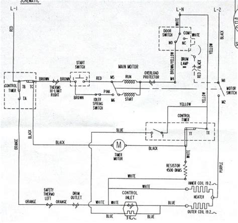 maytag centennial dryer parts diagram 28 images