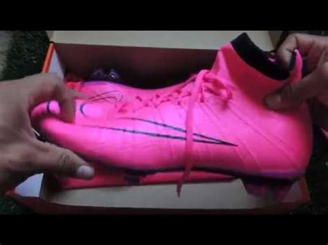 nike zero imagenes unboxing nike mercurial superfly rosa youtube