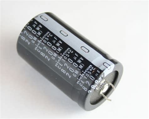 nichicon electrolytic capacitor 120 uf 200v lgm2d821mhsb nichicon capacitor 820uf 200v aluminum electrolytic snap in high temp 2020031344