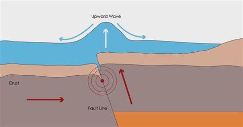 a diagram of a tsunami room 2 burnham school how a tsunami is formed