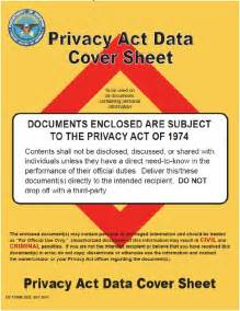 185kb print the department of defense privacy act data cover sheet