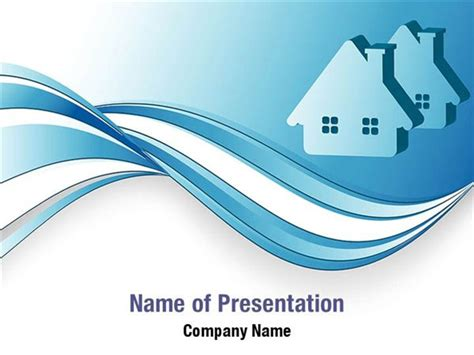 house powerpoint template house icon powerpoint templates house icon powerpoint