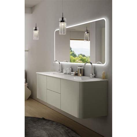mobile da bagno sospeso baden haus mobile da bagno sospeso 140 cm liverpool grigio