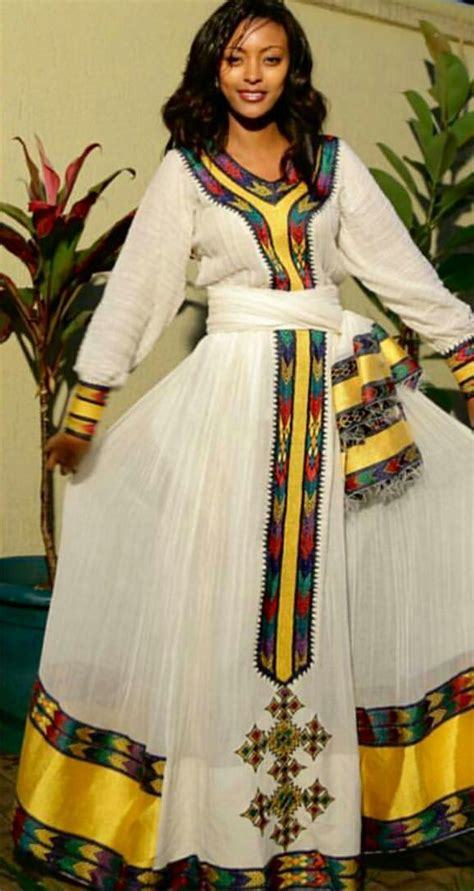 ethiopian hairdressing different design ethiopian traditional dress africa exclusive pinterest