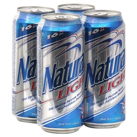 how many calories in natural light beer how many carbs are in a can of natural light beer