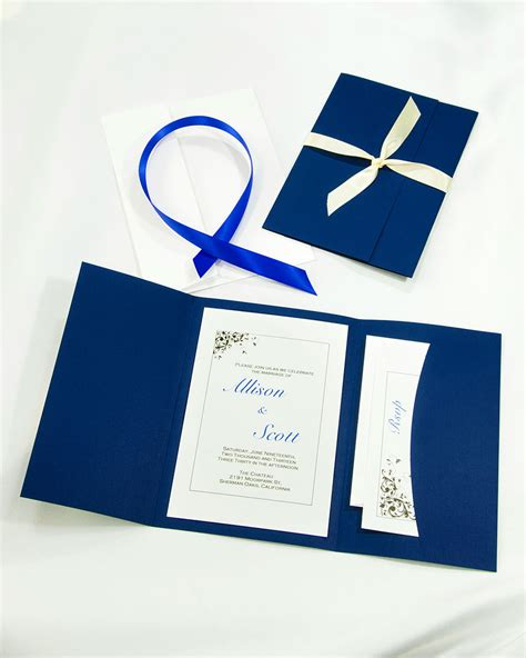 pocket invitation wedding kits do it yourself wedding invitations the ultimate guide pretty designs
