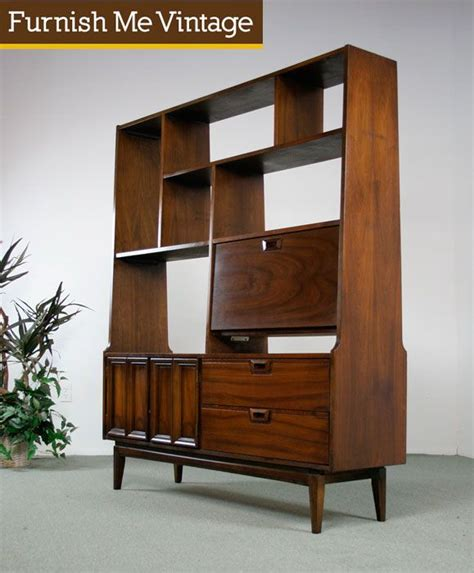 mid century modern room divider bookcase reminds me of my