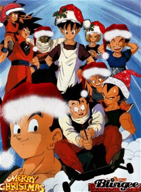 imagenes de navidad dragon ball z dragon ball z merry christmas picture 38436979 blingee com