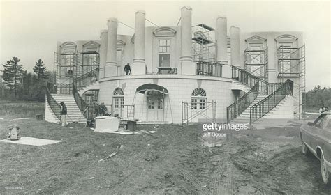 how was the white house built glenn ford getty images