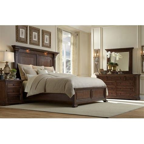 austin bedroom furniture coventry ii king 4 pc bedroom group oasis star