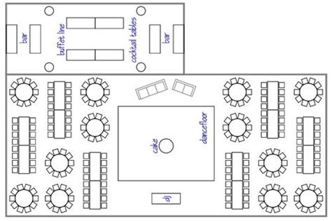 layout of wedding party reception layout ideas home design elements